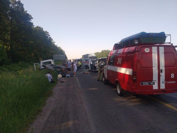 Під Одесою бензовоз влетів у вантажівку: водія збирали по частинах, кадри 18+