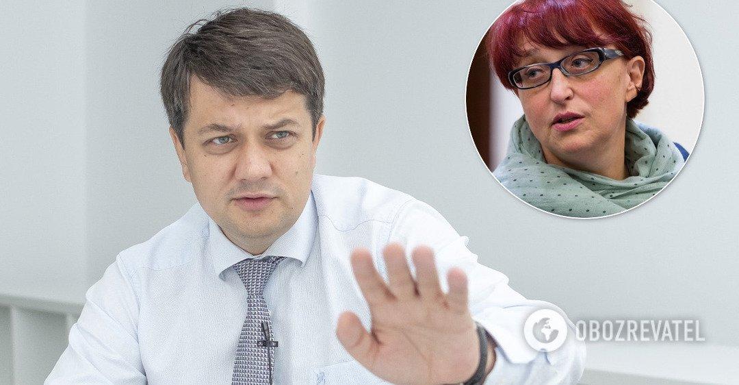 З питанням про відставку Третьякової до Разумкова поки не звернулися