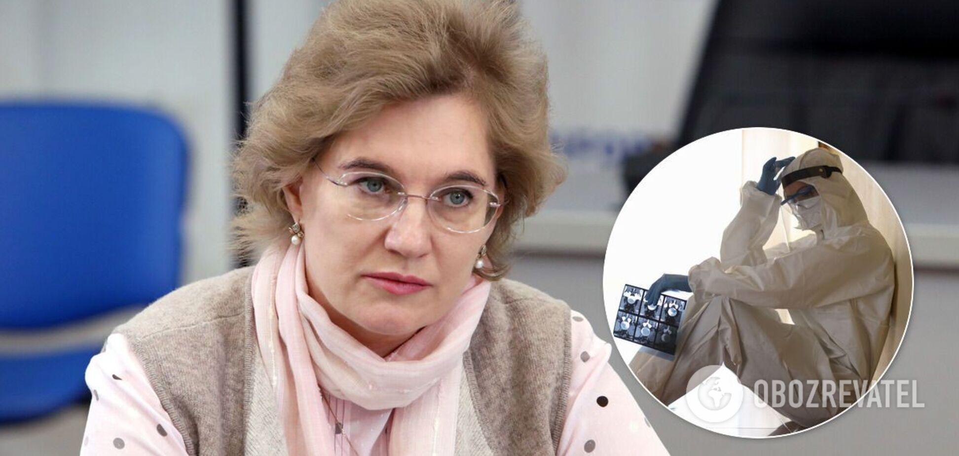 Голубовська назвала винних у катастрофі з медициною в Україні