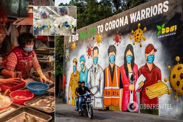 Учені з Китаю заявили, що коронавірус міг виникнути в Індії влітку 2019-го
