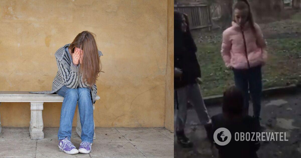 У Кривому Розі школярки напали на дівчину: побиття знімали на відео   Суспільство   OBOZREVATEL