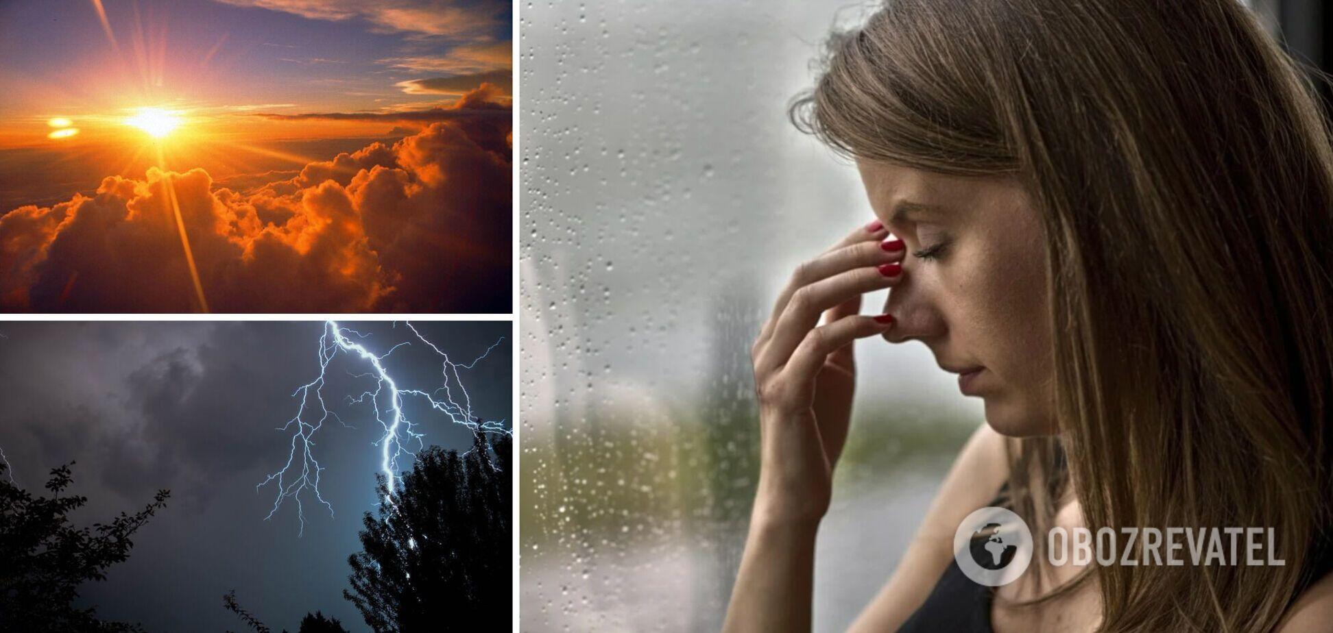В Україні зростає кількість метеозалежних: синоптикиня розповіла, як пережити перепади погоди